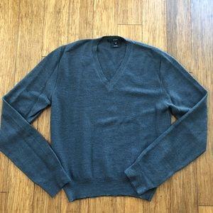 Gucci V Neck Alpaca Sweater Sz S/M